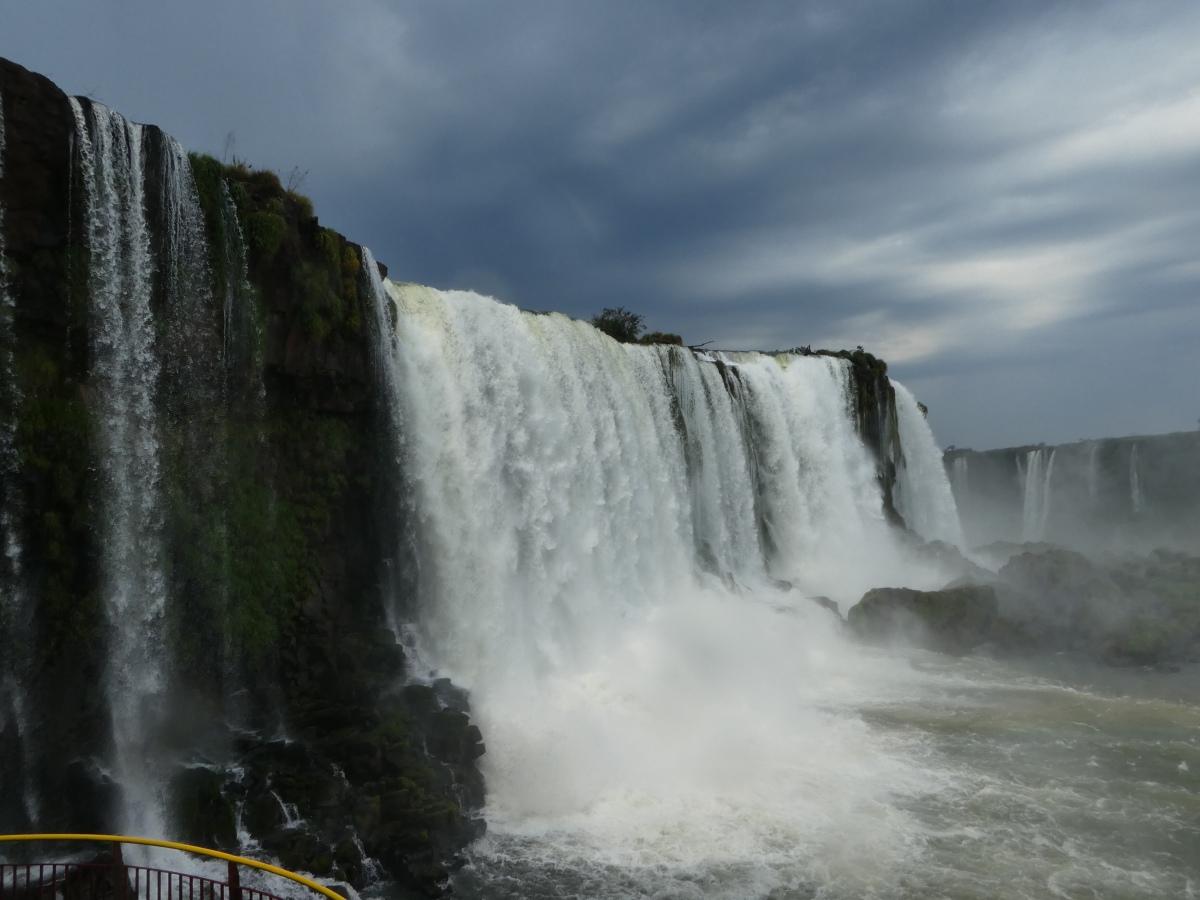 Was für ein Spektakel!! Iguaçu zumErsten