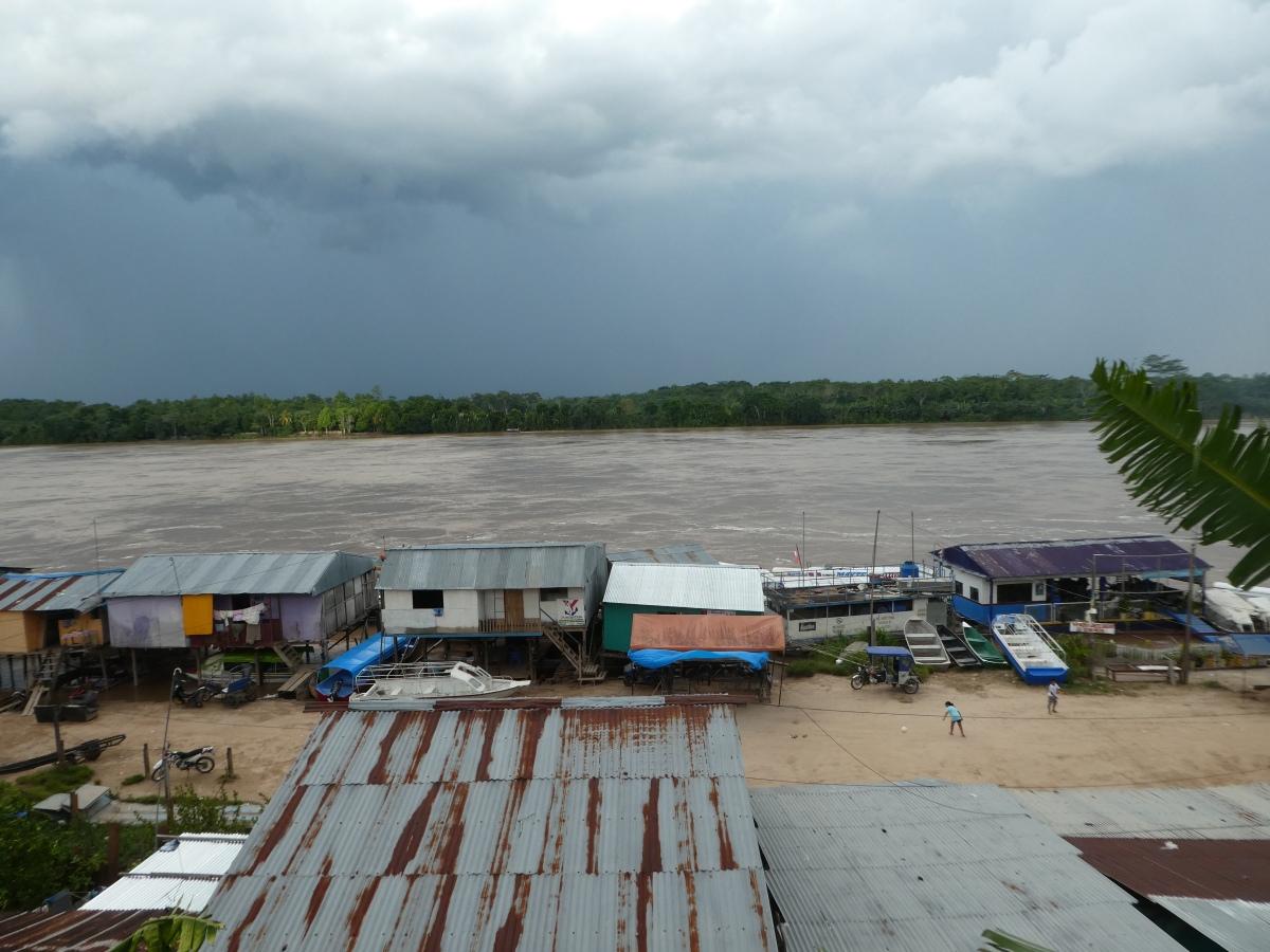 Hafenstadt Yurimaguas