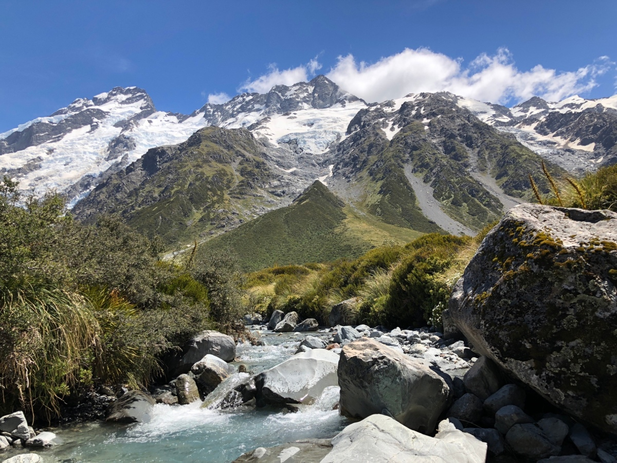 Ab ins Gebirge – Mount Cook Nationalpark
