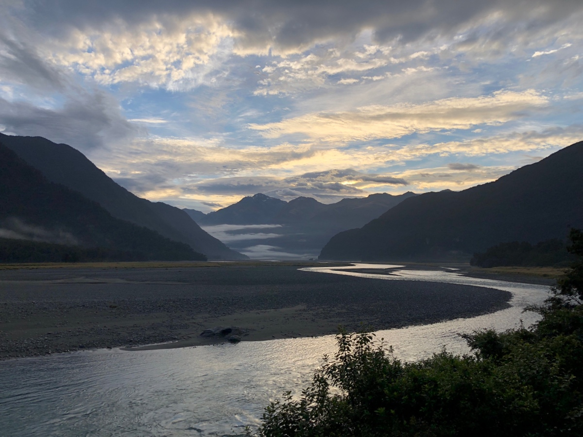 Über den Haast Pass bis Fox Glacier an der WestCoast