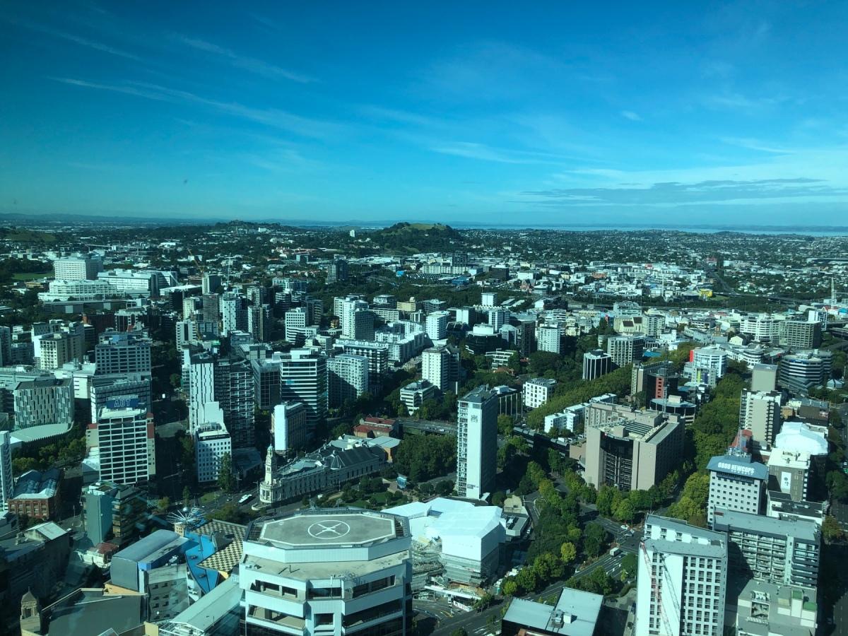 Last stop: Auckland