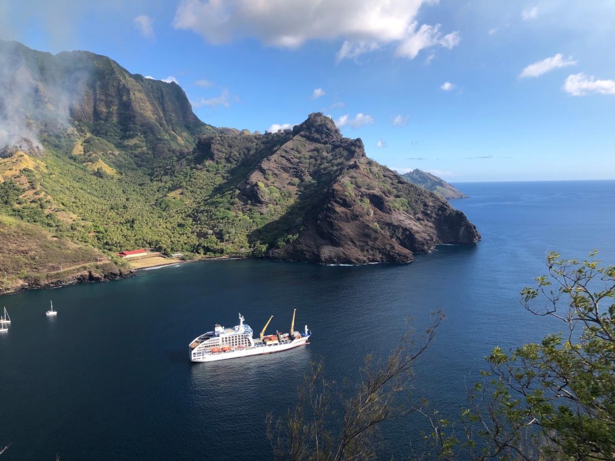 Abenteuer auf der Aranui 5 – ErsterTag