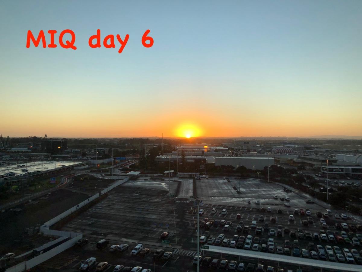 MIQ day 6 – playing music:-)