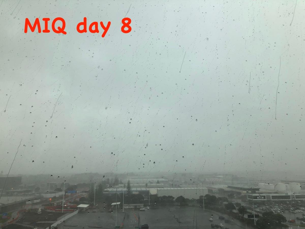 MIQ day 8 – bad news:-(