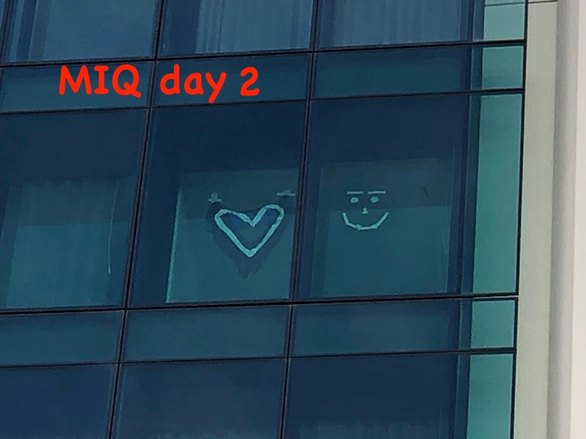 MIQ day 2 – groceriesarrived!